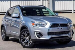2016 Mitsubishi ASX XB MY15.5 LS (2WD) Silver Continuous Variable Wagon Cannington Canning Area Preview