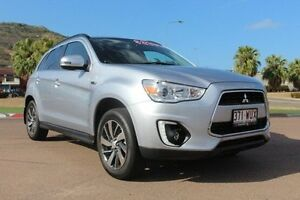 2015 Mitsubishi ASX XB MY15 LS 2WD Silver 6 Speed Constant Variable Wagon Townsville Townsville City Preview