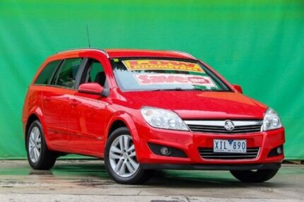 2008 Holden Astra AH MY08.5 CDX Red 4 Speed Automatic Wagon Ringwood East Maroondah Area Preview