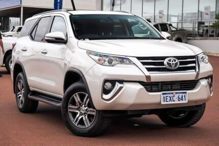 2015 Toyota Fortuner GUN156R GXL Crystal Pearl 6 Speed Automatic Wagon Wangara Wanneroo Area Preview