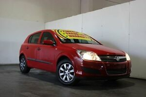 2008 Holden Astra AH MY08.5 60th Anniversary Red 5 Speed Manual Hatchback Underwood Logan Area Preview