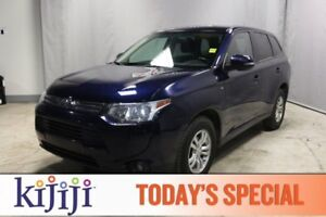 2014 Mitsubishi Outlander AWC SE Accident Free,  Heated Seats,