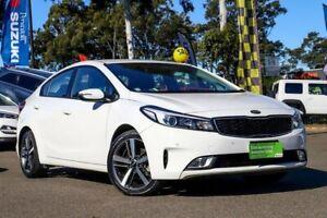 2017 Kia Cerato YD MY17 Sport White 6 Speed Sports Automatic Sedan Condell Park Bankstown Area Preview