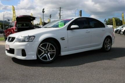 2011 Holden Commodore VE II SV6 White 6 Speed Manual Sedan