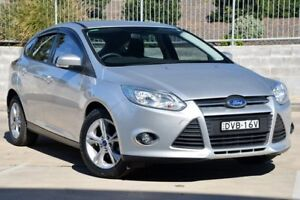 2013 Ford Focus LW MK2 Trend Silver 6 Speed Automatic Hatchback Lisarow Gosford Area Preview