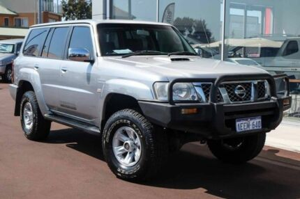 2008 Nissan Patrol GU 6 MY08 ST Platinum 5 Speed Manual Wagon Mindarie Wanneroo Area Preview
