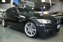 2009 BMW 320i E90 MY09 Executive Black 6 Speed Steptronic Sedan Victoria Park Victoria Park Area Preview