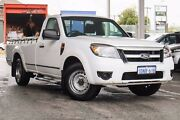 2010 Ford Ranger PK XL White 5 Speed Manual Utility Glendalough Stirling Area Preview