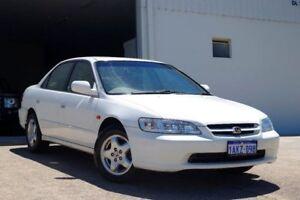 1999 Honda Accord V6 White 4 Speed Automatic Sedan Myaree Melville Area Preview