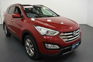 2013 Hyundai Santa Fe DM Elite CRDi (4x4) Red 6 Speed Automatic Wagon Moorabbin Kingston Area Preview
