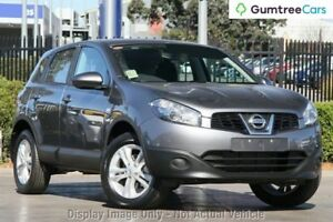 2013 Nissan Dualis J10W Series 4 MY13 ST Hatch X-tronic 2WD Grey 6 Speed Constant Variable Hatchback