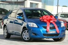2010 Toyota Yaris NCP93R MY11 YRS Blue 4 Speed Automatic Sedan Pennant Hills Hornsby Area Preview