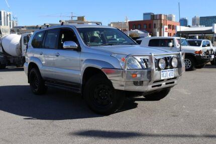2006 Toyota Landcruiser Prado KZJ120R GXL Silver Ash 4 Speed Automatic Wagon Northbridge Perth City Area Preview