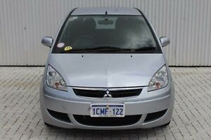 2007 Mitsubishi Colt Silver Constant Variable Hatchback Embleton Bayswater Area Preview