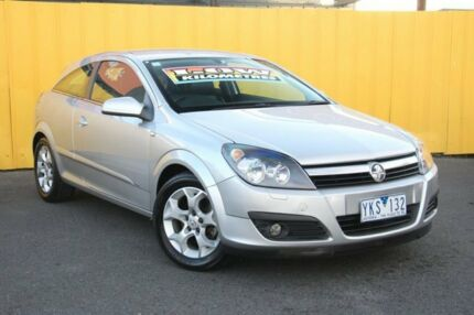 2006 Holden Astra AH MY06 CDX Silver 4 Speed Automatic Coupe Heatherton Kingston Area Preview