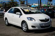 2015 Toyota Yaris NCP93R YRS White 4 Speed Automatic Sedan Ringwood East Maroondah Area Preview
