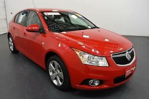 2014 Holden Cruze JH MY14 Equipe Red 6 Speed Automatic Hatchback Moorabbin Kingston Area Preview