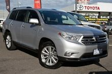 2011 Toyota Kluger  Silver Sports Automatic Wagon Keysborough Greater Dandenong Preview