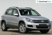 2012 Volkswagen Tiguan 5N MY13 103TDI DSG 4MOTION Silver 7 Speed Sports Automatic Dual Clutch Wagon Ringwood East Maroondah Area Preview
