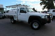 2011 Nissan Patrol GU 6 MY10 DX White 5 Speed Manual Cab Chassis Tingalpa Brisbane South East Preview