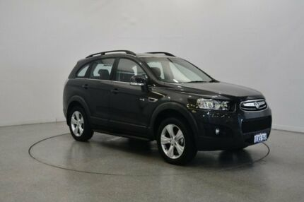 2012 Holden Captiva CG Series II 7 AWD CX Grey 6 Speed Sports Automatic Wagon Victoria Park Victoria Park Area Preview