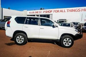 2012 Toyota Landcruiser Prado KDJ150R GX White 6 Speed Manual Wagon Westminster Stirling Area Preview