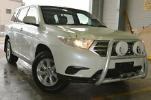 2012 Toyota Kluger GSU45R MY12 KX-R AWD Crystal Pearl 5 Speed Sports Automatic Wagon Pearce Woden Valley Preview