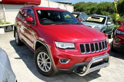 2013 Jeep Grand Cherokee WK MY2013 Laredo Red 5 Speed Sports Automatic Wagon