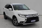 2015 Mitsubishi Outlander ZK MY16 XLS 2WD White 6 Speed Constant Variable Wagon Embleton Bayswater Area Preview