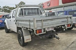 2012 Nissan Navara D40 S6 MY12 RX White 5 Speed Automatic Cab Chassis Gympie Gympie Area Preview