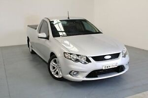 2011 Ford Falcon FG XR6 Ute Super Cab Silver 6 Speed Sports Automatic Utility Hamilton East Newcastle Area Preview