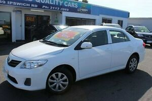 2012 Toyota Corolla ZRE152R MY11 Ascent White 4 Speed Automatic Sedan Yeerongpilly Brisbane South West Preview