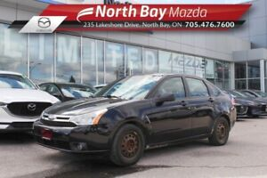 2009 Ford Focus SES Self Certify with Leather, Cruise, A/C