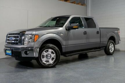 2011 Ford F150 XLT 4x4 Supercrew Longbed  Grey 6 Speed Sports Automatic Utility Woodridge Logan Area Preview