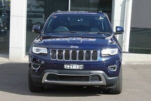 2015 Jeep Grand Cherokee WK MY15 Limited Blue 8 Speed Sports Automatic Wagon Wolli Creek Rockdale Area Preview