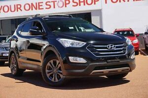 2012 Hyundai Santa Fe DM MY13 Active Black 6 Speed Sports Automatic Wagon Westminster Stirling Area Preview