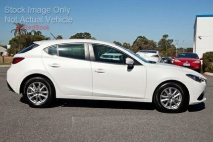 2015 Mazda 3 BM5476 Touring SKYACTIV-MT Snowflake White Pearl 6 Speed Manual Hatchback Cannington Canning Area Preview