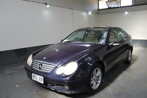 2002 Mercedes-Benz C200 CL203 Kompressor Blue 5 Speed Auto Tipshift Coupe Pennington Charles Sturt Area Preview