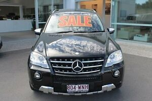 2010 Mercedes-Benz ML350 CDI W164 MY10 BlueEFFICIENCY AMG Sports Black 7 Speed Sports Automatic Mount Gravatt Brisbane South East Preview
