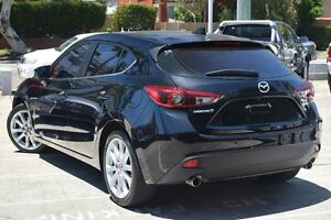 2015 Mazda 3 BM MY15 SP25 GT Black 6 Speed Automatic Hatchback Mosman Mosman Area Preview