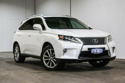 2012 Lexus RX450H Sports Luxury Sports Luxury White Constant Variable Wagon