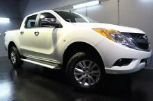 2013 Mazda BT-50  White Sports Automatic Utility Launceston 7250 Launceston Area Preview