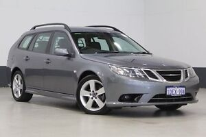 2009 Saab 9-3 MY08 Vector 1.9TiD SportCombi Green 5 Speed Automatic Wagon Bentley Canning Area Preview