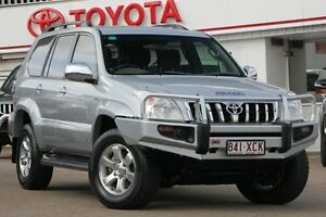 2008 Toyota Landcruiser Prado KDJ120R GXL Silver 5 Speed Automatic Wagon Woolloongabba Brisbane South West Preview