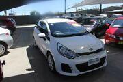 2016 Kia Rio UB MY16 S White 4 Speed Automatic Hatchback Mitchell Gungahlin Area Preview