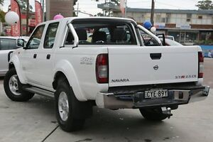2015 Nissan Navara D22 S5 ST-R White 5 Speed Manual Utility Waitara Hornsby Area Preview