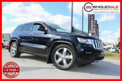 2011 Jeep Grand Cherokee WK Limited Wagon 5dr Spts Auto 5sp 4x4 5.7i [MY11] Blue Sports Automatic