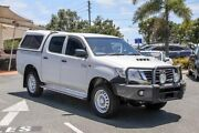 2015 Toyota Hilux KUN26R MY14 SR Double Cab Glacier White 5 Speed Automatic Utility Noosaville Noosa Area Preview