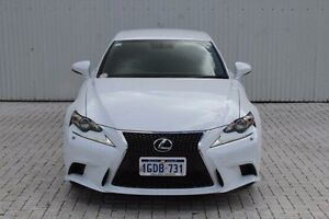 2014 Lexus IS250 White Sports Automatic Sedan Embleton Bayswater Area Preview