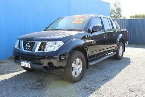 2011 Nissan Navara ST Turbo Diesel Black Manual 4x4 Dual Cab Mandurah Mandurah Area Preview
